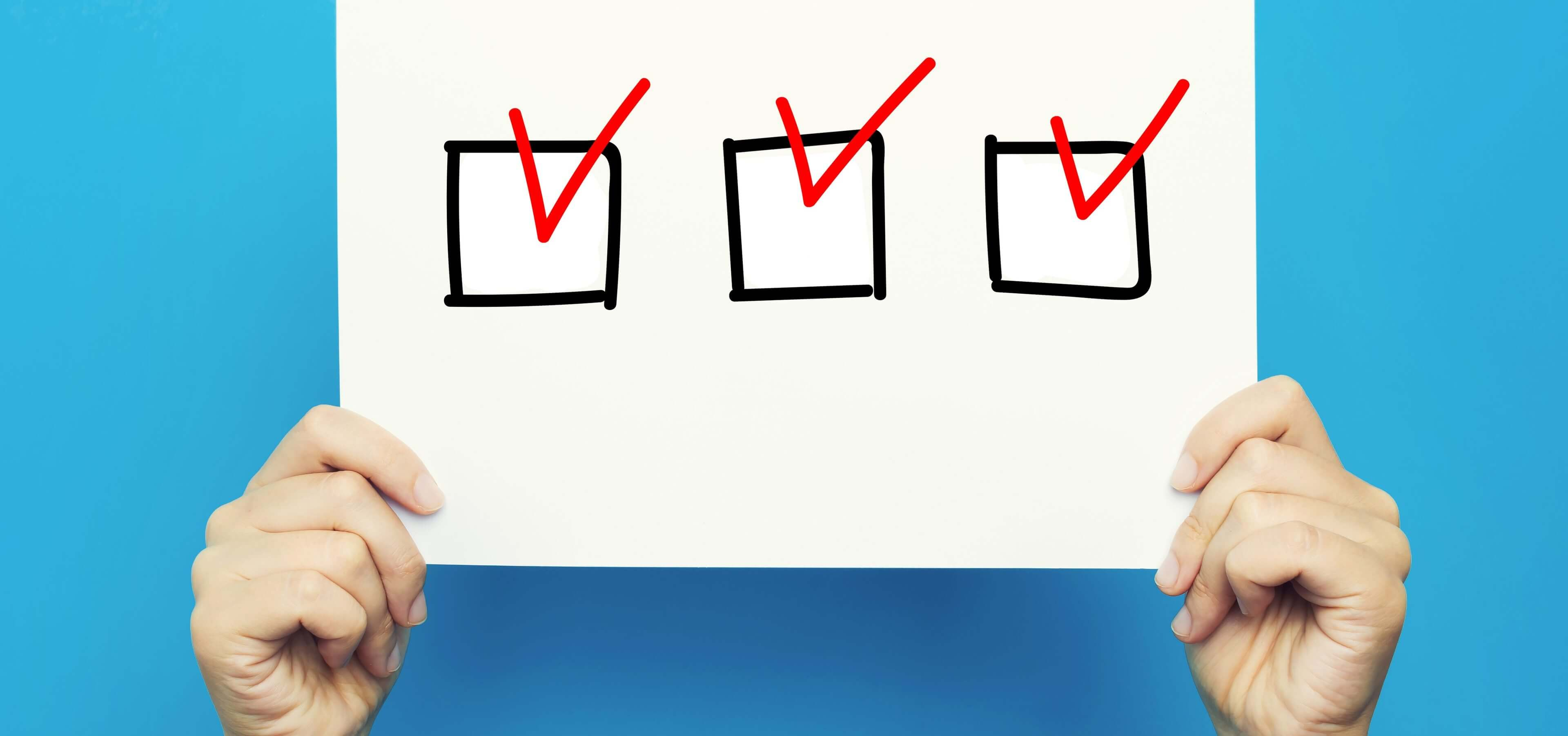 Checkliste 1