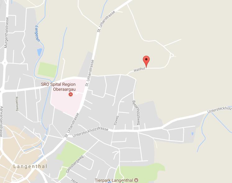 Map Waldhof