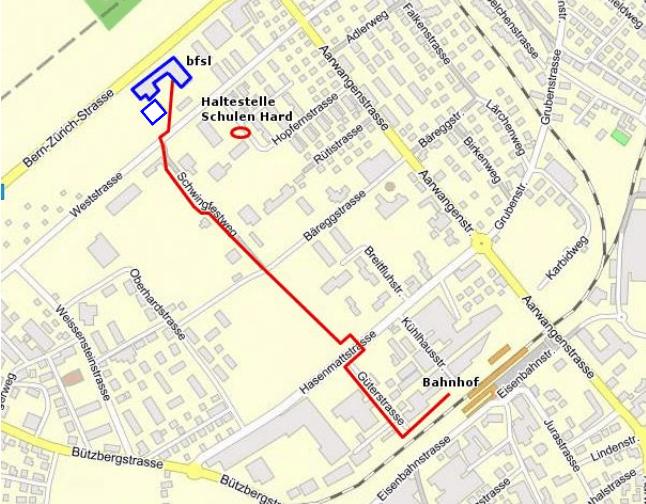 Map Weststrasse 24