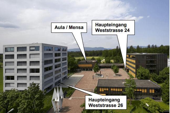 Standort Weststrasse 24